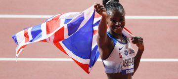 Dina Asher-Smith will compete over 100m and 200m - she is world champion in the latter - at the Tokyo 2020 Olympics
