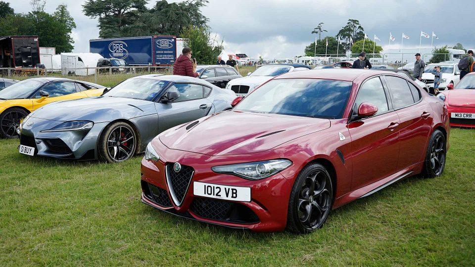 Toyota GR Supra and Alfa Romeo Giulia Quadrifoglio