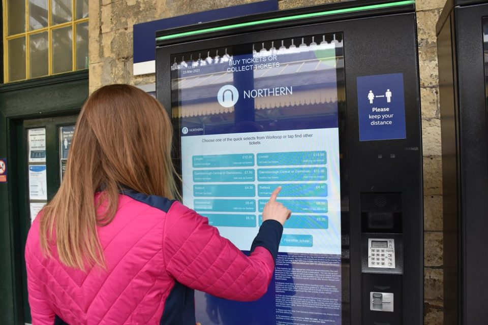 Northern Rail's new self-service ticket machines have been the subject of a ransomware attack, the rail operator confirmed this evening.
