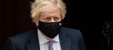 Boris Johnson Leaves For Weekly PMQs
