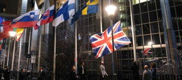 British Flag Removed From EU Buildings Following Brexit