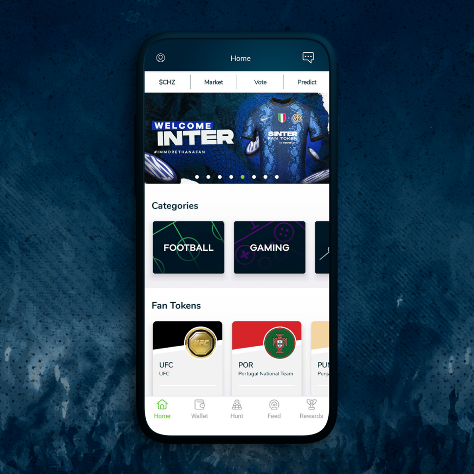The Socios app has had 1.2m downloads since launching in 2019 and the company says it has 900,000 users