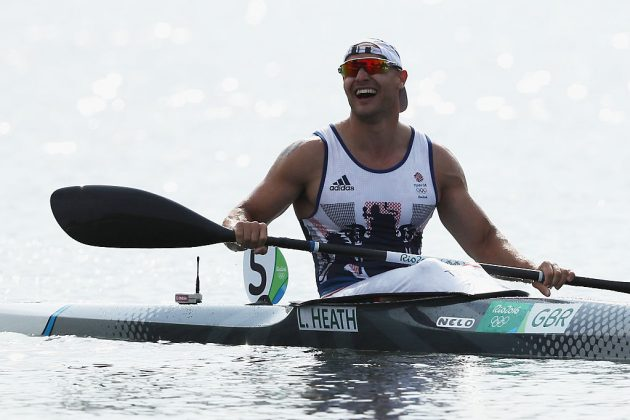 Liam Heath won gold for Team GB in the men's kayak in Rio five years ago