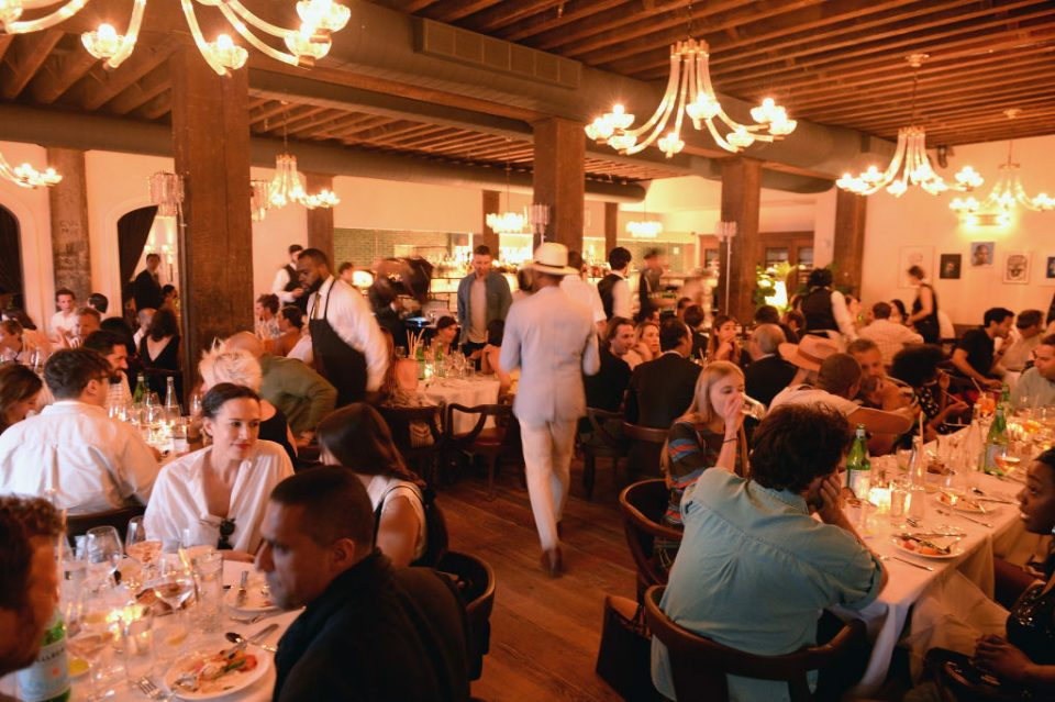 Cecconi's Dumbo Opening Party Hosted By Nick Jones