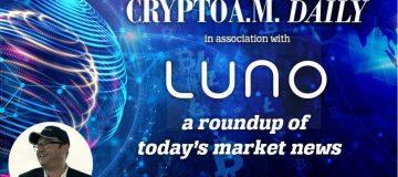 Crypto AM Daily new header