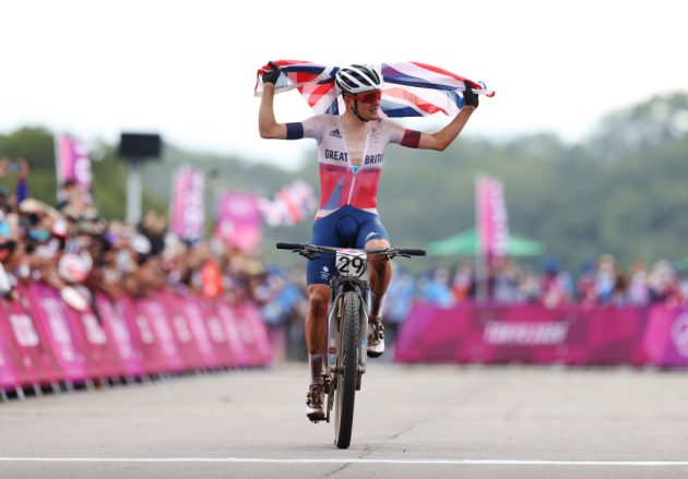 Team GB mountain biker Tom Pidcock won a historic gold in the men's cross-country