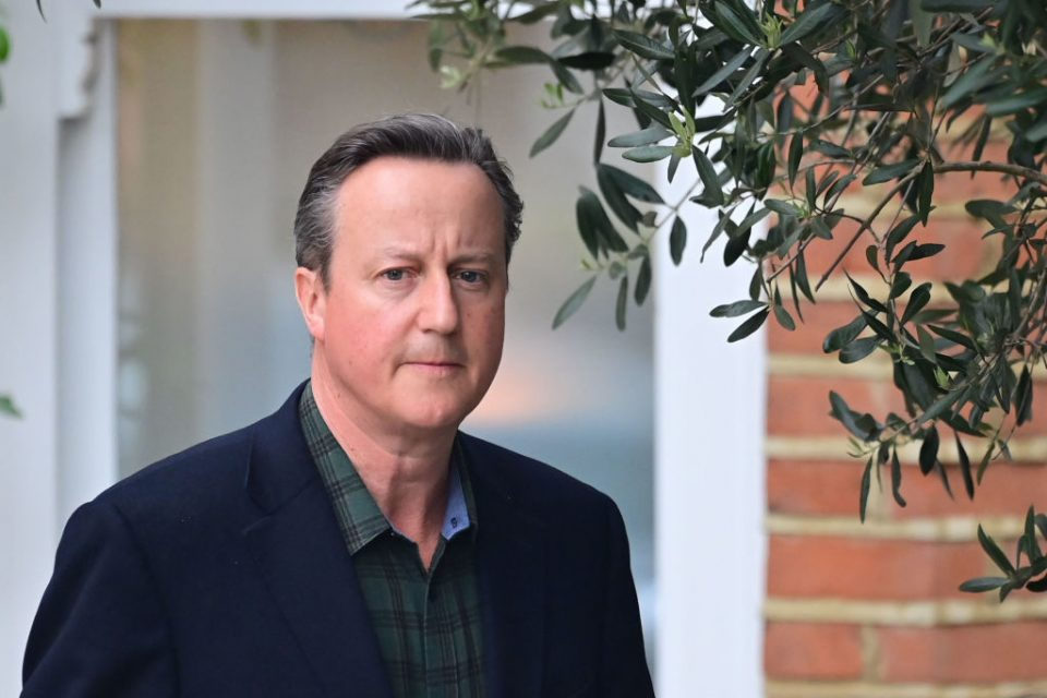 David Cameron Gives Evidence To Select Committee On Greensill