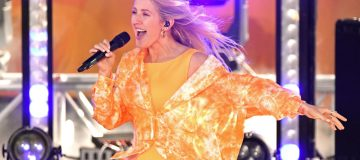 """Ellie Goulding Performs On ABC's """"Good Morning America"""""""