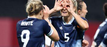 Team GB make winning start to Tokyo 2020 in women's football