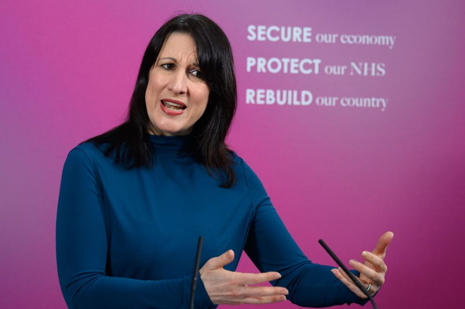 Labour MP Rachel Reeves Calls On Government To 'Clean Up Crony Contracts'