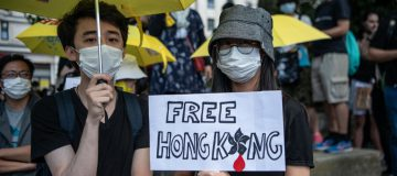 London Rally Marks Two Years Since Hong Kong Extradition-Bill Protest