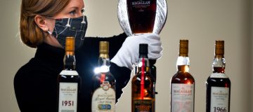 Macallan Whisky Collection Goes On Auction At Bonhams