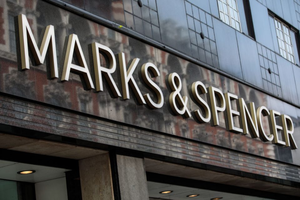 Marks and Spencer to close 100 stores by 2022