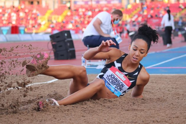 Katarina Johnson-Thompson will be looking to put past Olympic disappointments behind her in Japan