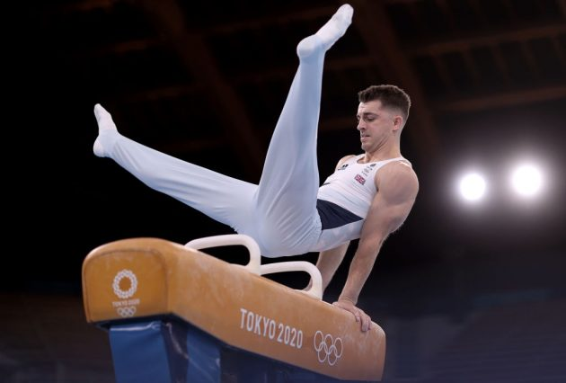 Team GB gymnast Max Whitlock is the reigning Olympic champion on the pommel horse