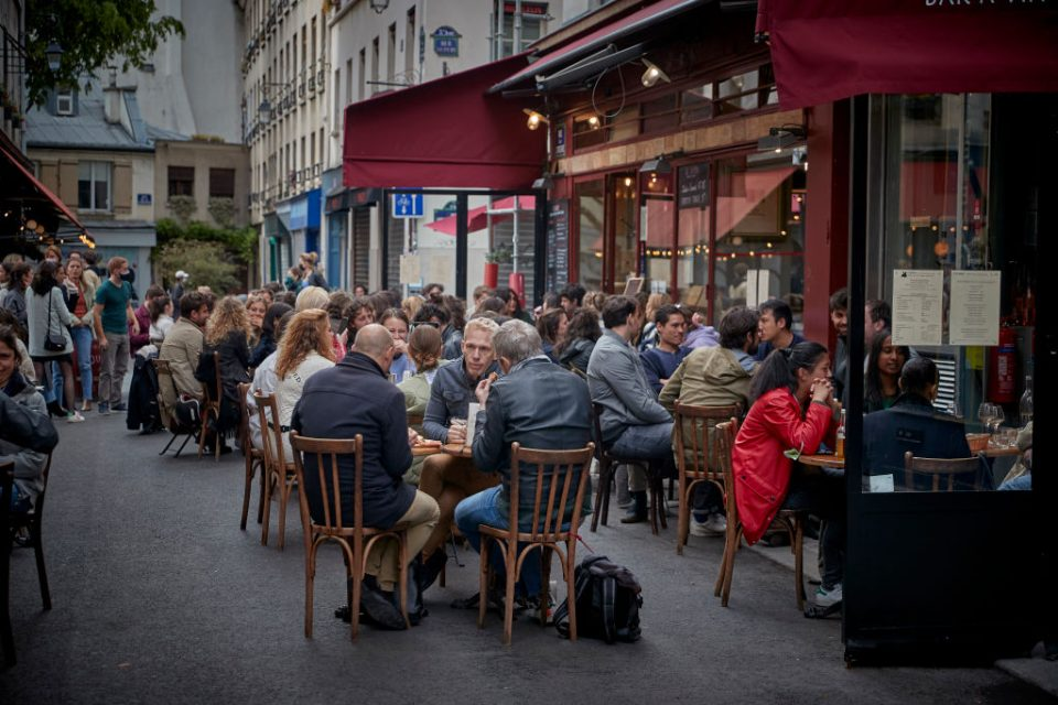 Paris Cafe Terraces Reopen With Easing Of Monthlong Lockdown