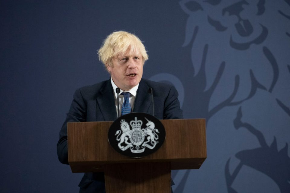 Prime Minister Delivers Speech On Levelling Up The Country