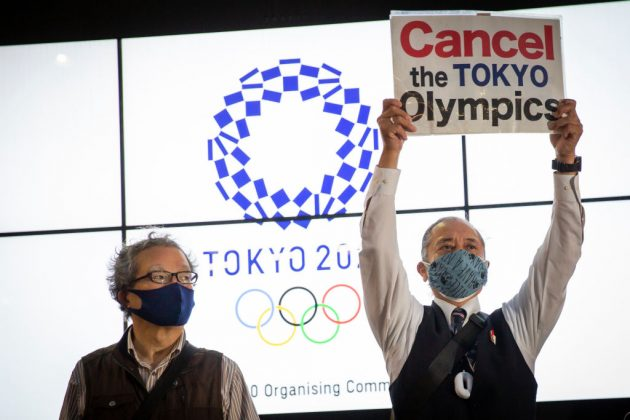 The decision to go ahead with the Tokyo 2020 Olympics has remained unpopular with the public, according to polls