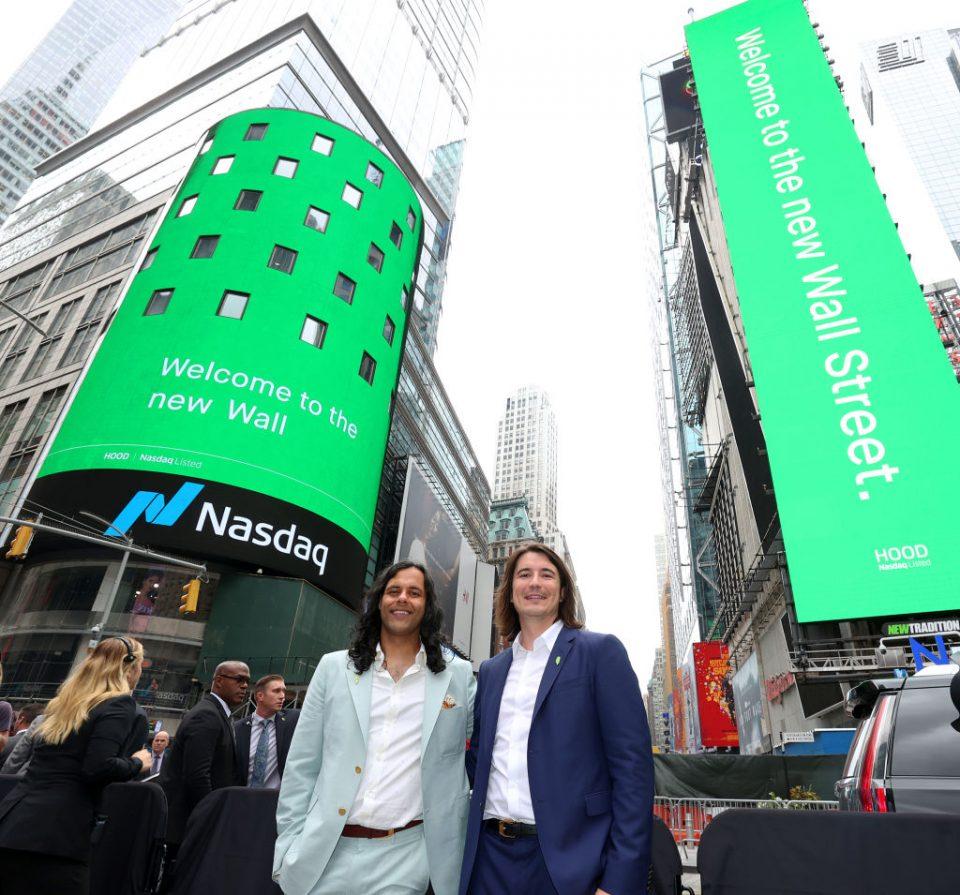 Robinhood Markets IPO Listing Day