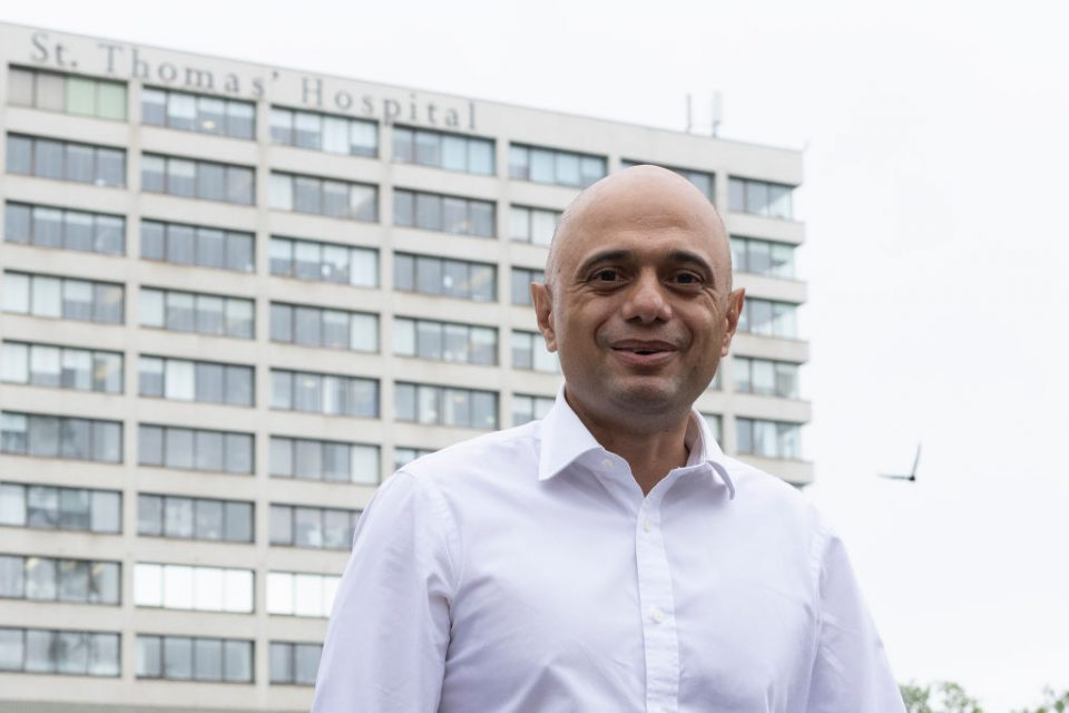 Sajid Javid Appointed As Health Secretary After Hancock Resignation