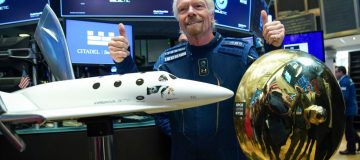 Sir Richard Branson has sold $300m worth of shares in Virgin Galactic, a regulatory filing showed, with the proceeds earmarked to help support the billionaire's other ventures.