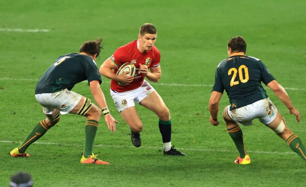 Owen Farrell could play at 12 with Dan Biggar at 10 in the Lions' first Test in South Africa