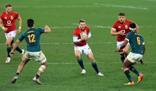 Elliot Daly has been dropped to the bench after a faltering display for the Lions in the first Test
