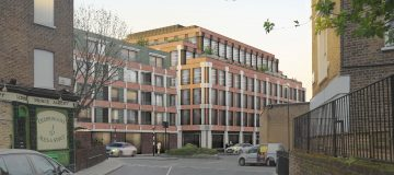 Construction firm BAM has been brought on by property firm W.RE to redevelop an old industrial estate near St Pancras' hospital in Camden, City A.M. can reveal.