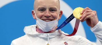 Adam Peaty won the first gold medal of Tokyo 2020 for Team GB in the men's 100m breaststroke