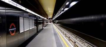 Transport for London (TfL) has begun running trial services on the Northern Line extension to Nine Elms and Battersea ahead of this autumn's opening.