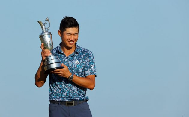 Collin Morikawa won the Open Championship at Royal St George's on Sunday, his second major title