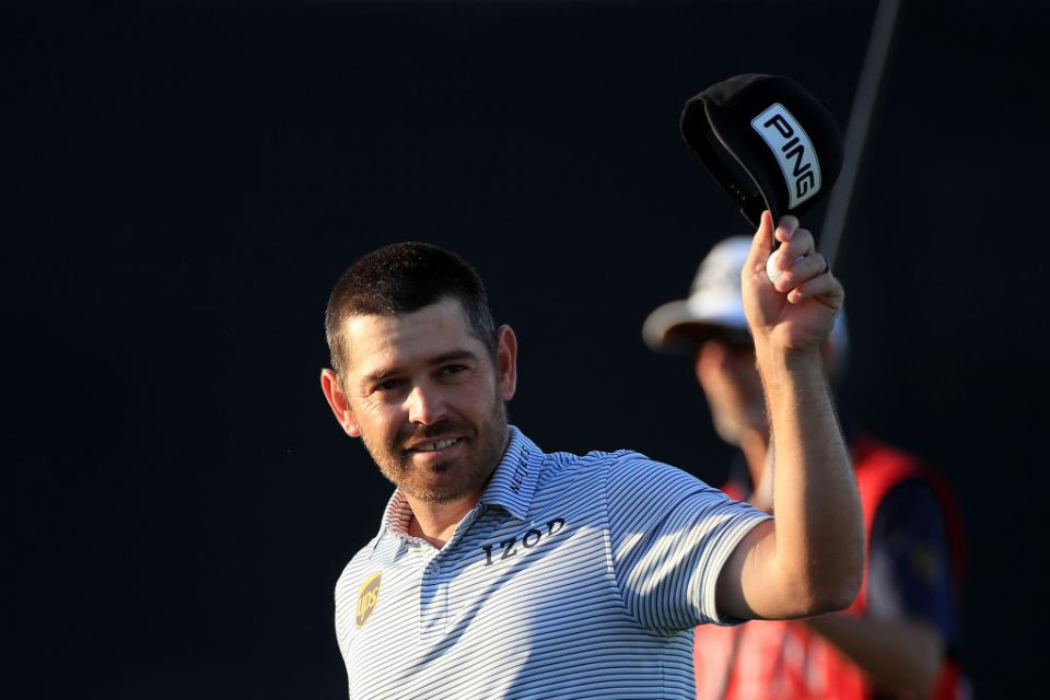 Louis Oosthuizen kept his nose in front at The Open with a third round of 69 at Royal St George's