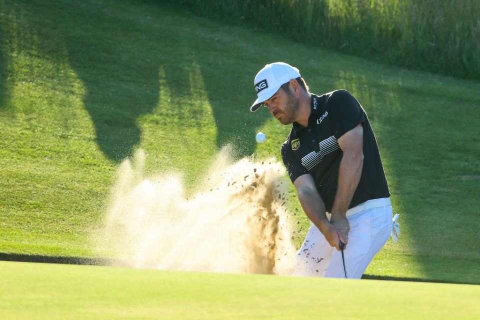 Oosthuizen is in the running for his second Open crown, having won in 2010 and lost a play-off in 2015
