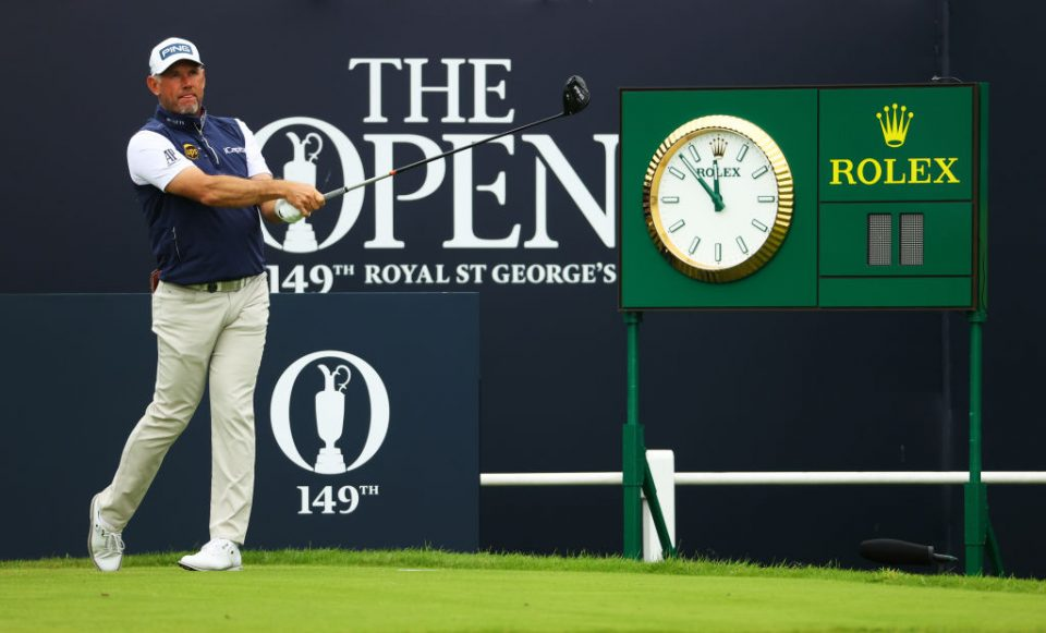 Lee Westwood is looking to emulate close friend Darren Clarke, who won The Open at Royal St George's in 2011