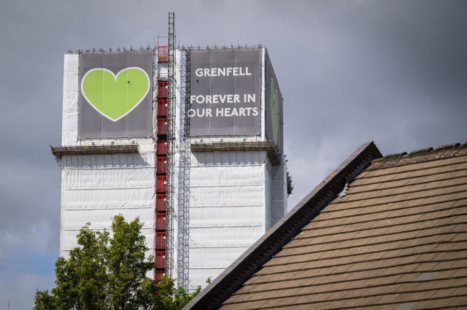 UK Government Considers Pulling Down Fire Damaged Grenfell Tower
