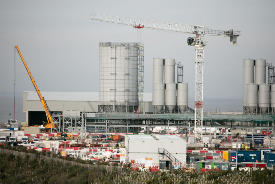 Views Of Hinkley Point C During Construction
