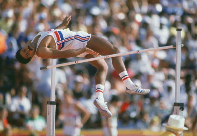 Thompson won his second decathlon gold medal at the Los Angeles Olympics in 1984