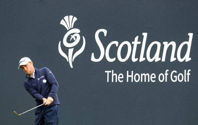 Justin Thomas is one of the star names playing the abrdn Scottish Open at the Renaissance Club this week
