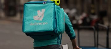 Deliveroo this morning raised its guidance for the first year after a quarter in which the company said that orders increased nearly 90 per cent.