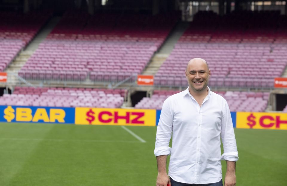 Socios and Chiliz founder Alexandre Dreyfus says the app helps world-renowned teams monetise their global fanbases