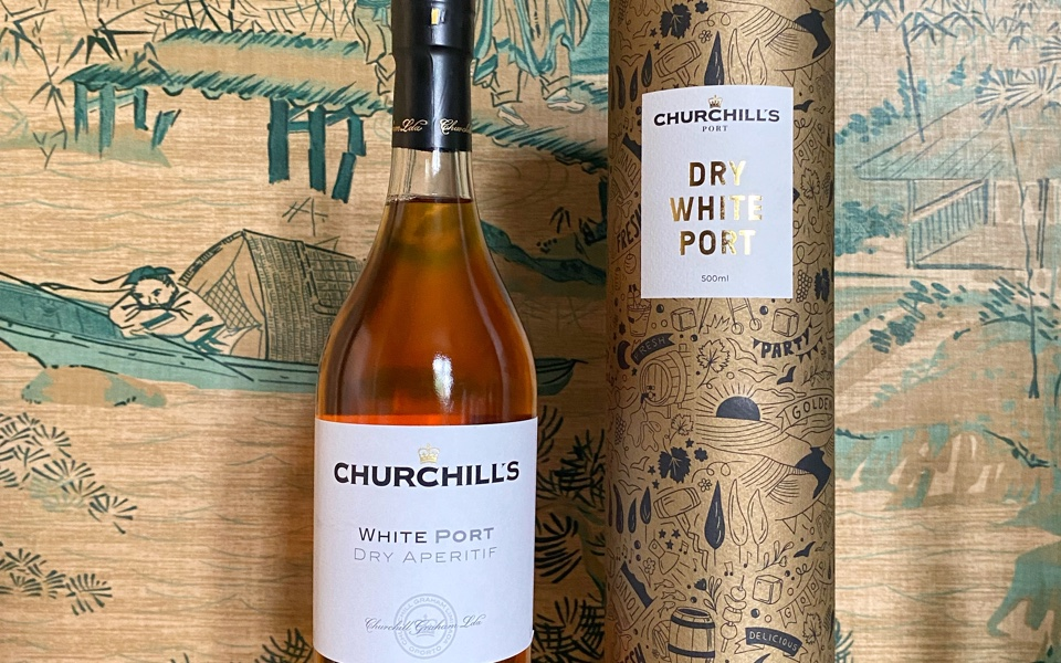 Fortified wine: Churchill's white port is reframing fortified wine