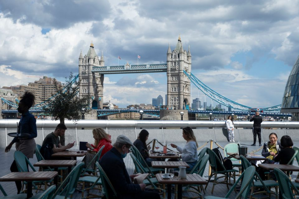 """Outside dining is set to become the norm in the UK even after Covid-19 restrictions are lifted as the government seeks to push forward with its """"levelling-up"""" agenda."""