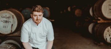 Mark Donald, chef at the new restaurant at Glenturret distillery in Perthshire