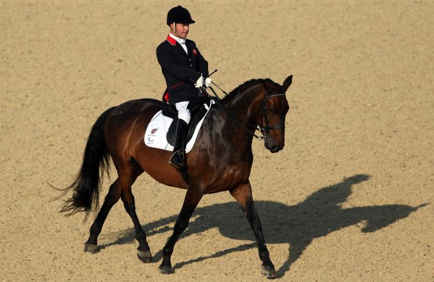 Sir Lee Pearson has won 11 Paralympic gold medals in dressage across five Games