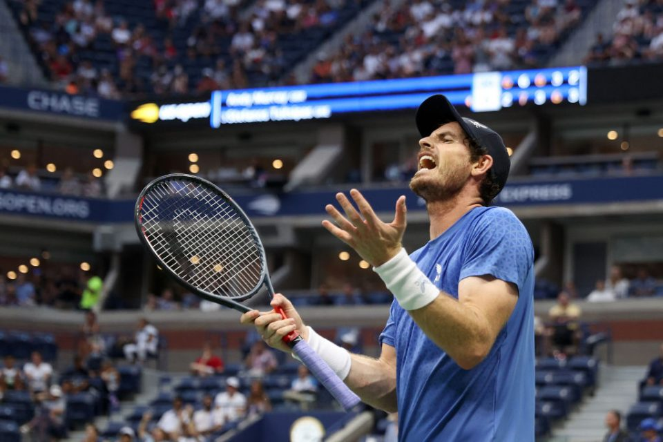Andy Murray accused Stefanos Tsitsipas of gamesmanship in their US Open first round match