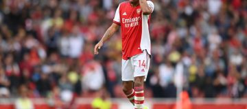 Arsenal were booed off after losing at home to Chelsea on Sunday in a game that increased the pressure on manager Mikel Arteta