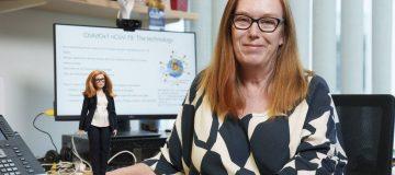 Covid: Barbie doll created of Oxford vaccine designer Dame Sarah Gilbert