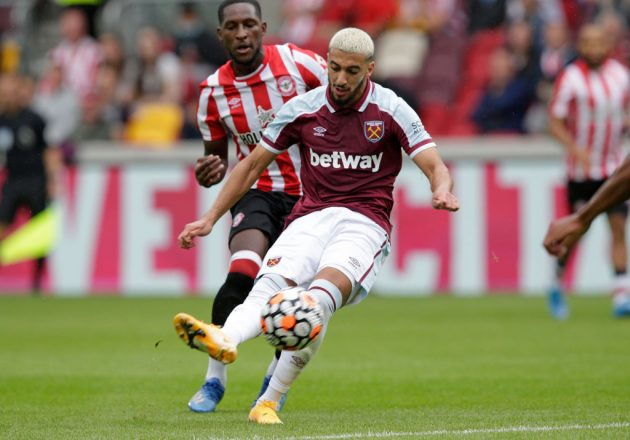 West Ham fans are hoping to see the best of Said Benrahma in his second season at the club