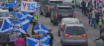 British PM Makes Two-Day Visit To Scotland