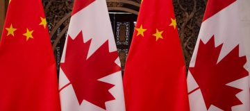 Canadian Prime Minister Justin Trudeau and Chinese President Xi Jinping Meet In Beijing